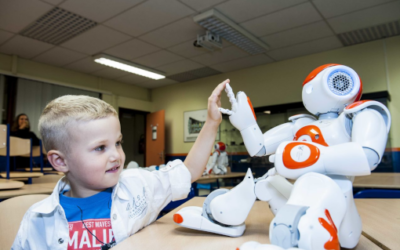 Robots becoming part of everyday life