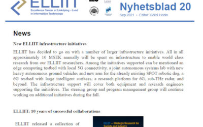 New issue of the ELLIIT Newsletter